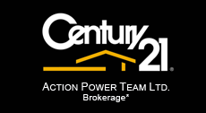 Century 21 Action Power Team Brokerage company logo!