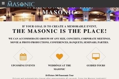 website of Masonic Temple for Telecommunications Equipment and Services
