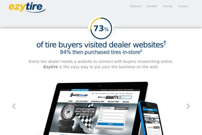 website of Virginia Tire and Auto Ashburn/dulles for Computer Contractors